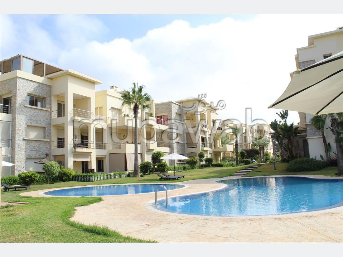 Appartement 3 façades type ROMA de 120m² + 67m² de Solarium bien orienté côté Mer, en vente Résidence Bella Vista
