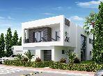 Villa avec piscine sur golf à Tunis Bay