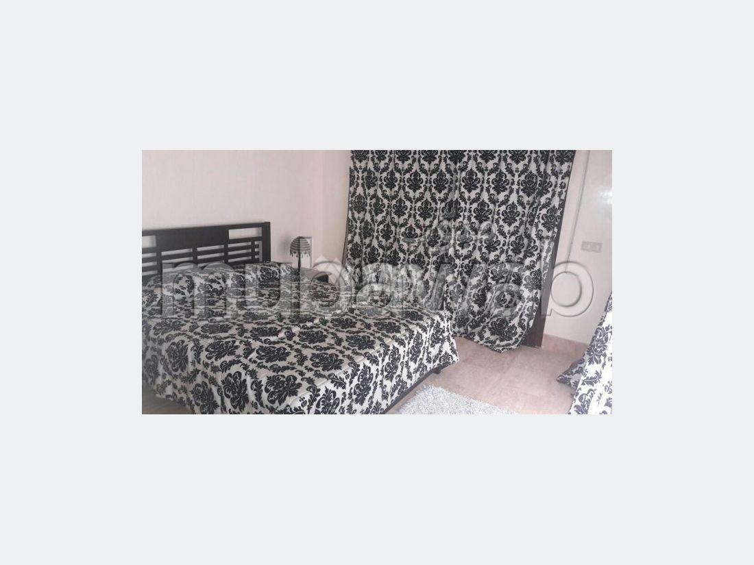 شقة، مفروشة، شرفة، طنجة المدينة