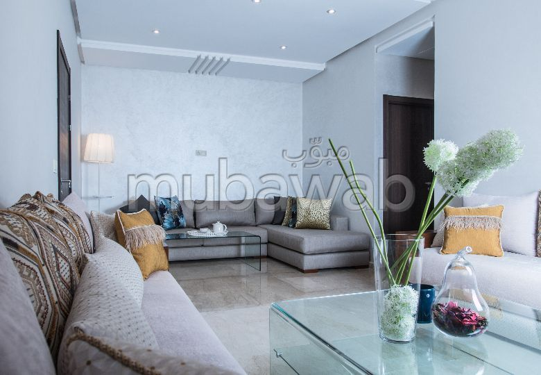 Find an apartment to buy in Route de Safi. 2 beautiful rooms. Private garden, No Lift.