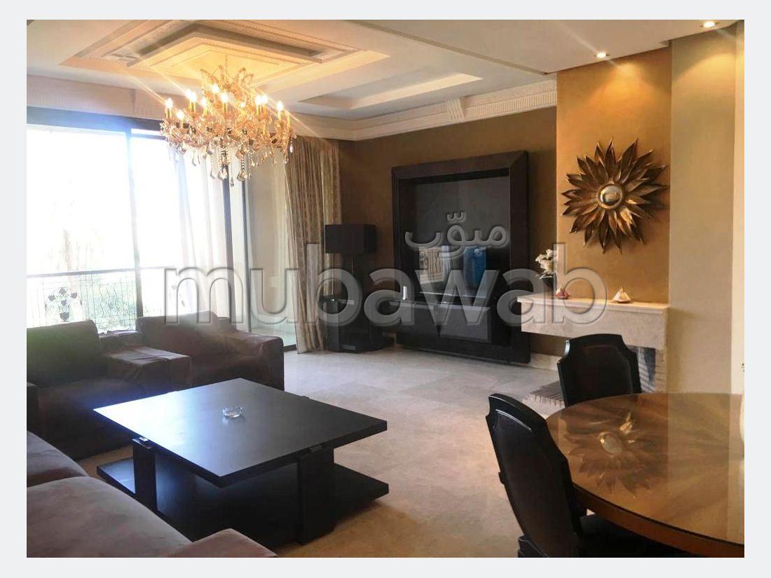 Hivernage, appartement neuf, meublé, 202 m2,3 suites, terrasses, parking