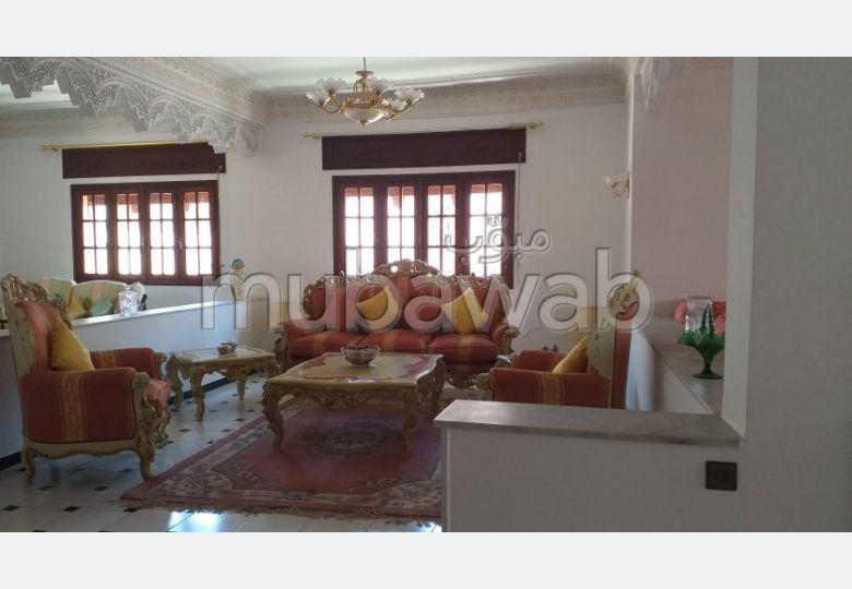 فيلا مساحتها 400م²، مطبخ مجهز، شرفة، 11 غرف، طنجة المدينة