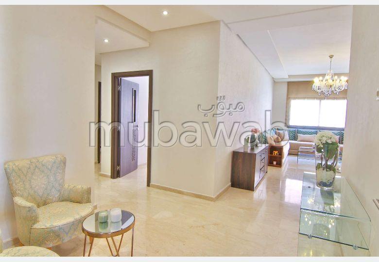 شقة للبيع بطريق اسفي. المساحة 75 م². مع المرآب والمصعد.