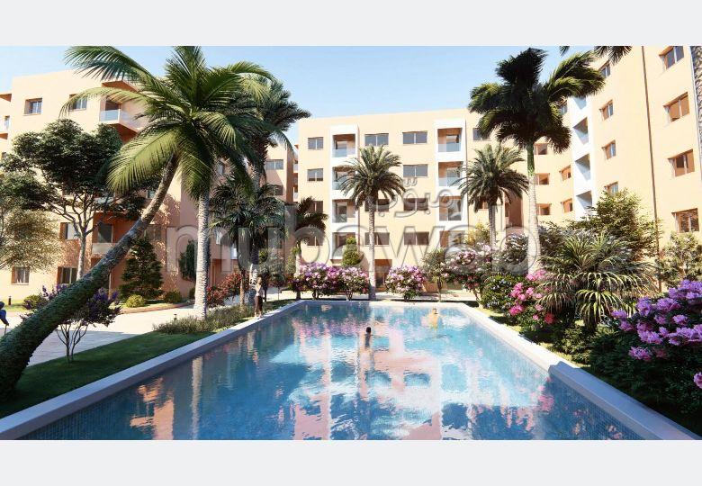 شقة رائعة للبيع بطريق اسفي. المساحة 87 م². صالون مغربي نموذجي ، إقامة آمنة.