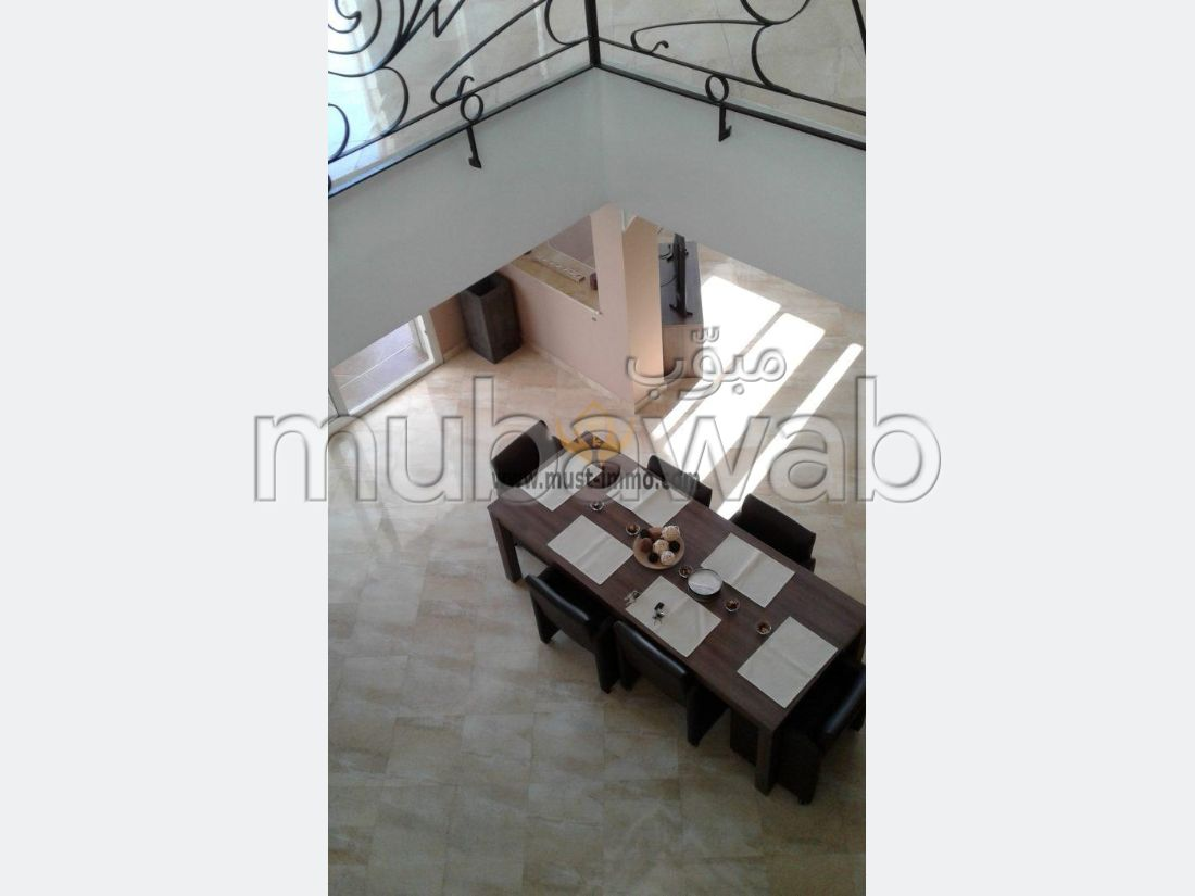 Beautiful villa for rent in Malabata. Surface area 500 m². Furnished.