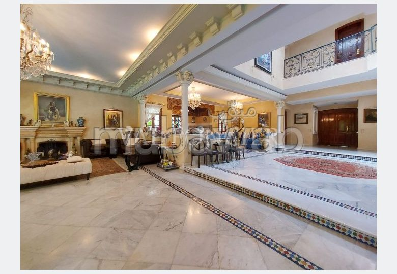 Vente très belle villa 1007m2 Californie, Casablanca