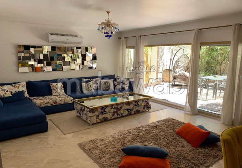 Bel appartement moderne location longue durée guéliz