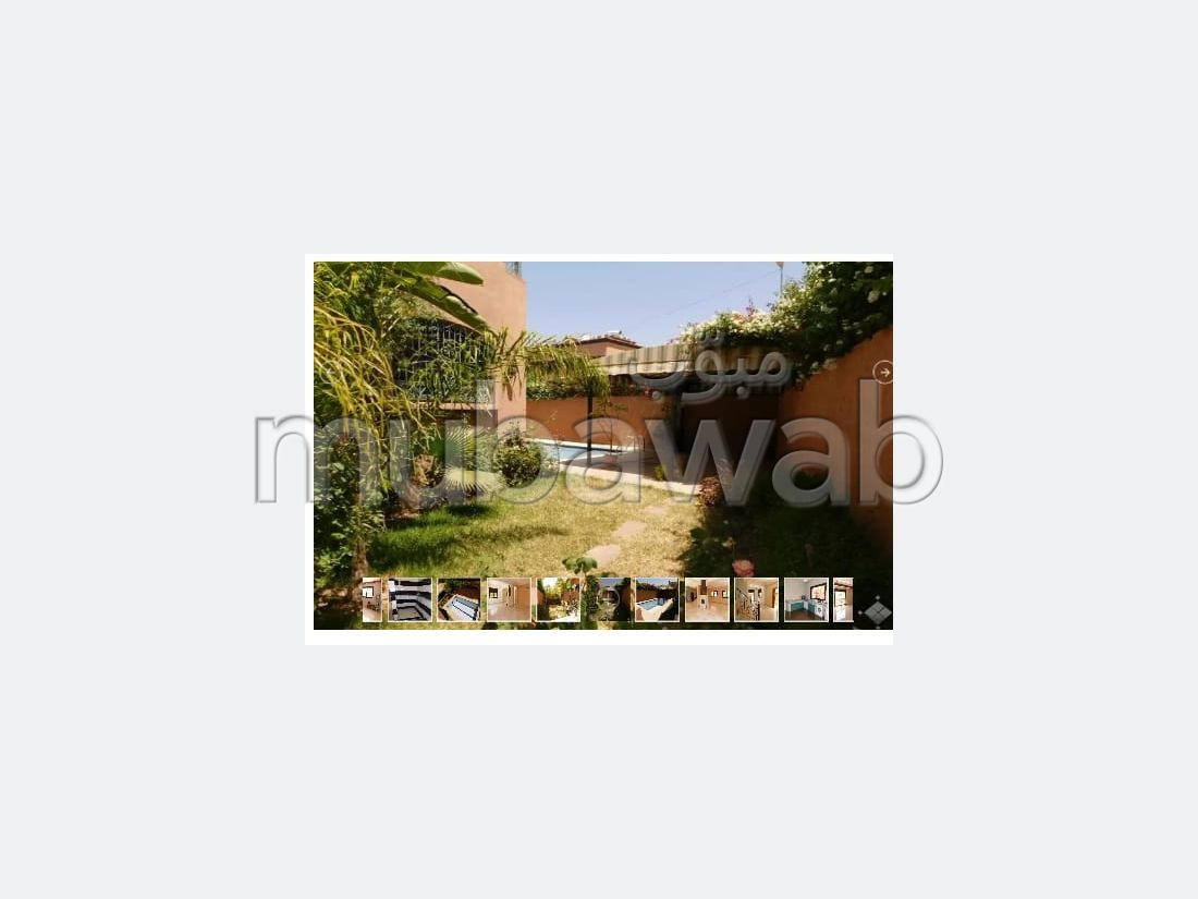فيلا مساحتها 330م²، شرفة، حديقة، 3 غرف، منارة