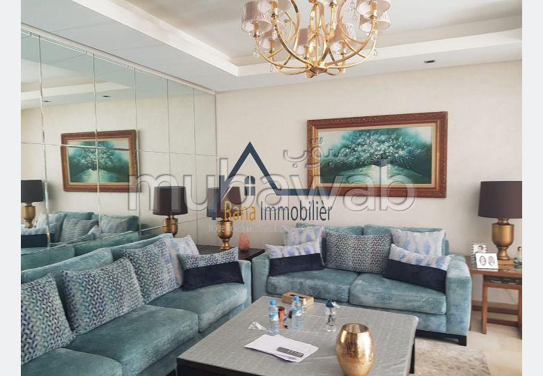 Luxueux appartement meublé à louer sur Souissi
