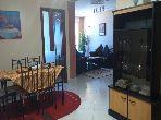 شقة مساحتها 120م²، مفروشة، مطبخ مجهز، 6 غرف، طنجة المدينة