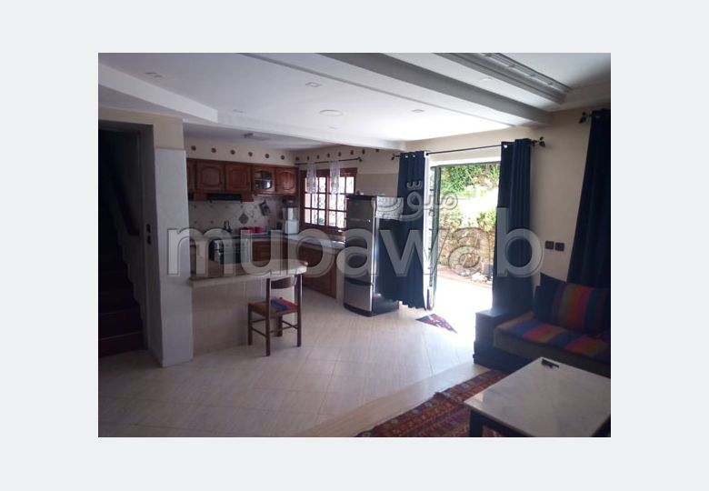 Rent this apartment. Total area 70 m². Garden and terrace.