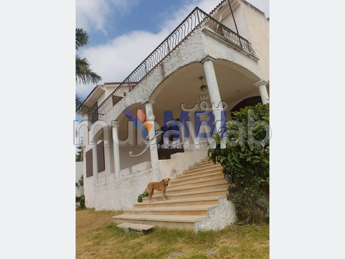 Luxury villa for sale. 4 large living areas. Green areas, Balcony.