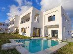 Des villas avec piscine à Tunis Bay Golf