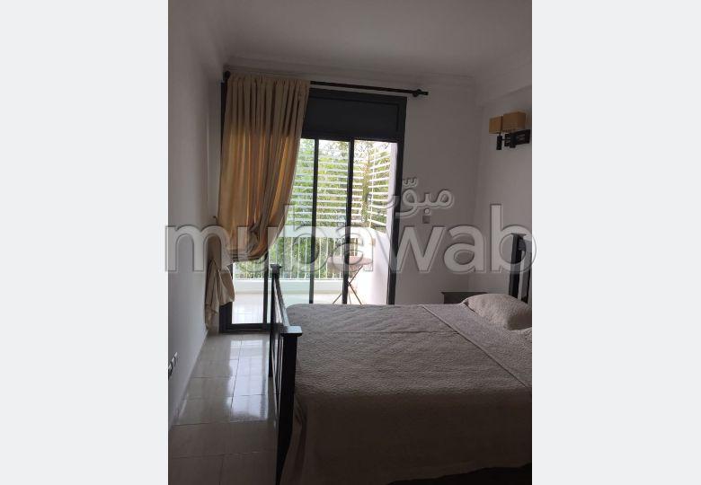 Appartement meublé à louer situé au Haut Agdal