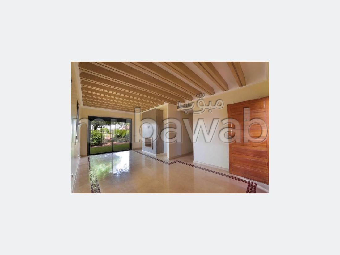 Apartment for sale in Ennakhil (Palmeraie). 2 Cabinet. Large swimming pool.
