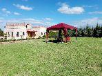 Vente villa sur un terrain de 2937m² à km 35 route d'amezmiz marrakech
