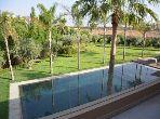 فيلا مساحتها 520م²، حديقة، مسبح، طريق اوريكا
