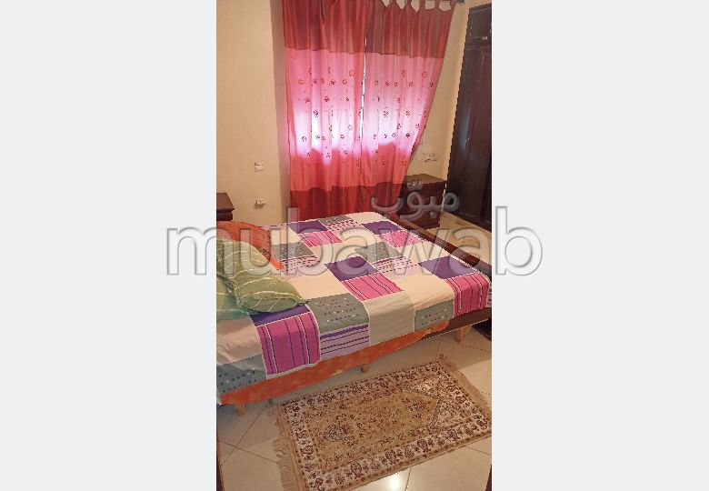 Apartments for rent in Hassan - Centre Ville. Area of 87.0 m². Well decorated.