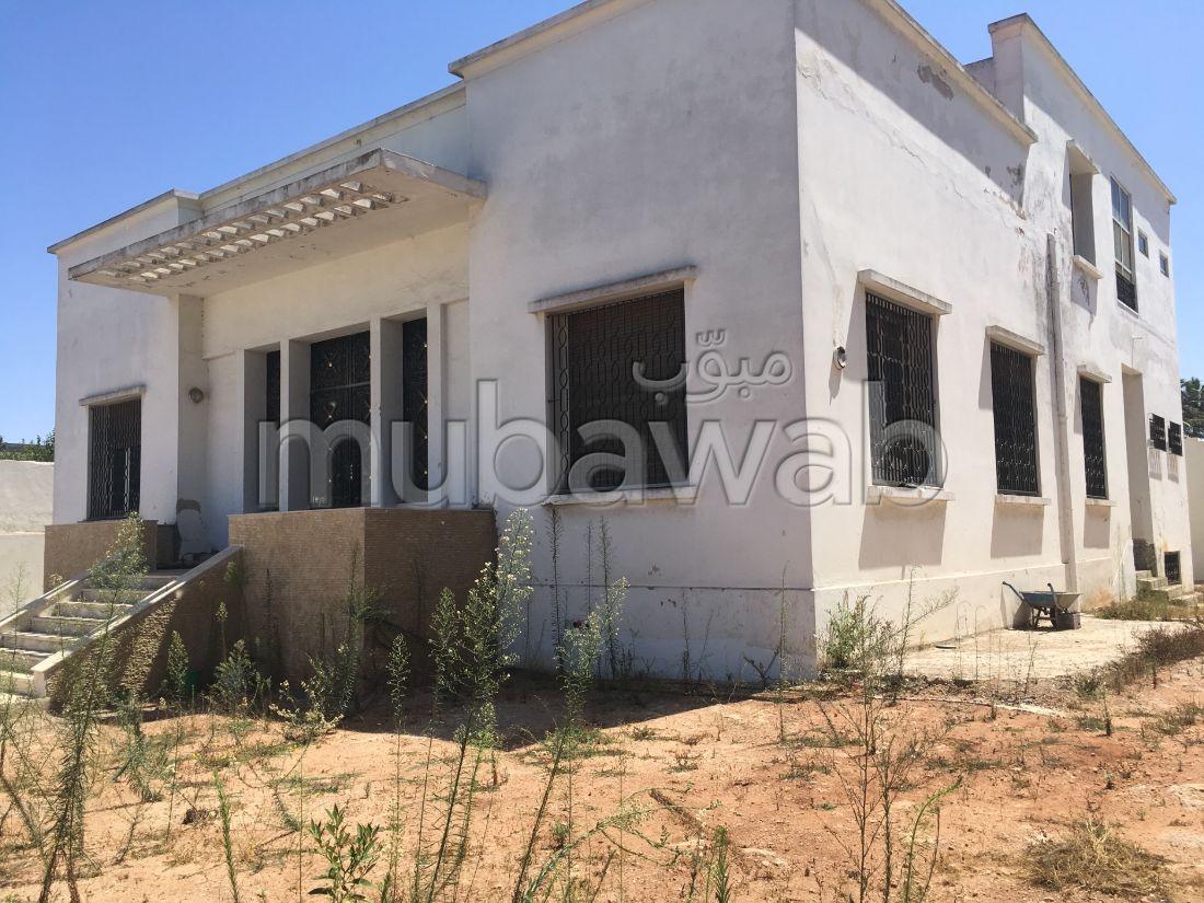 Villa à vendre quartier  Houbous façade 30 mètres