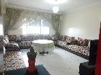 شقة مساحتها 96م²، مفروشة، مطبخ مجهز، 3 غرف، الحي الحسني