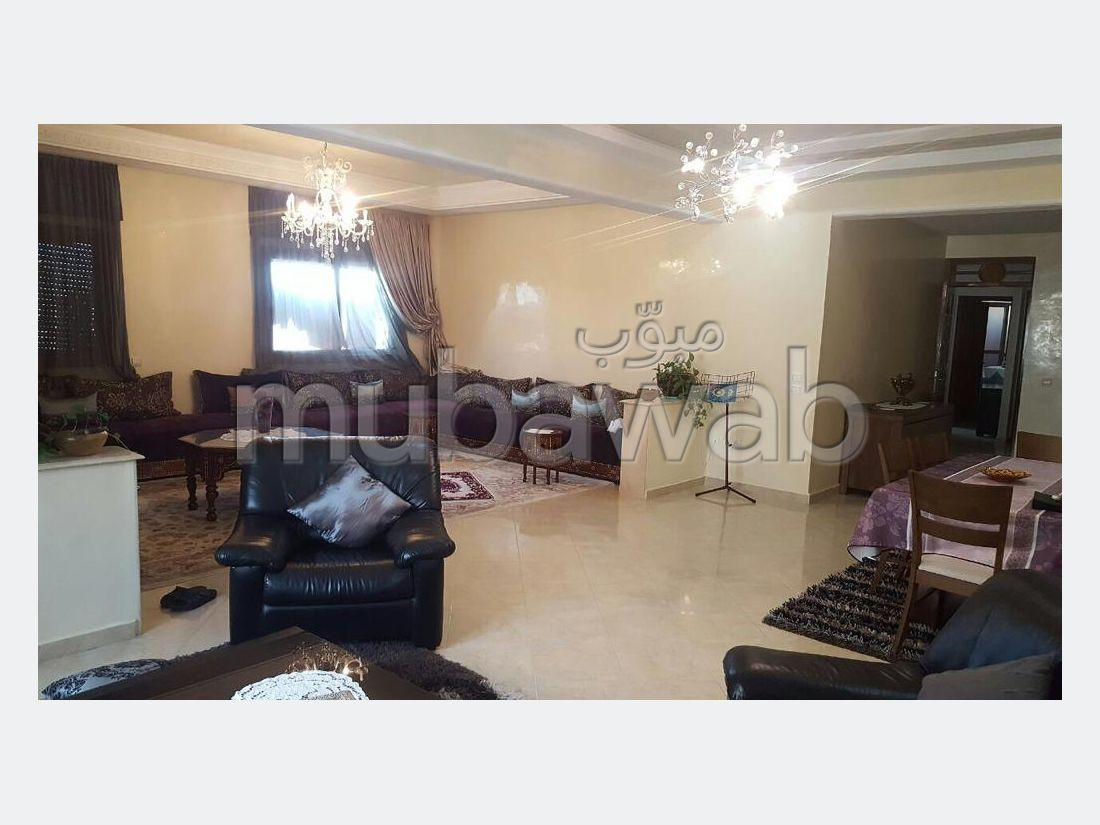 Fabulous apartment for sale in Maamora. 5 Dormitory. Cellar, Large terrace.