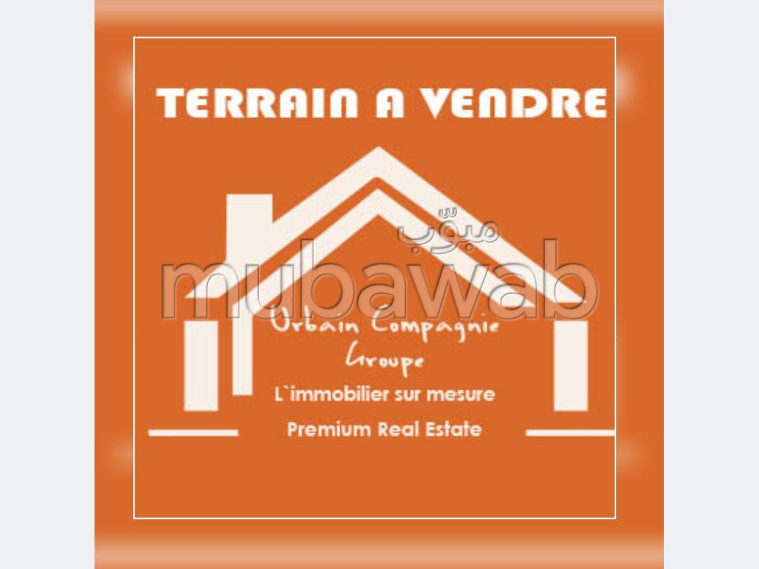 Bonito terreno en venta en Ain Diab. Área total 4166 m².