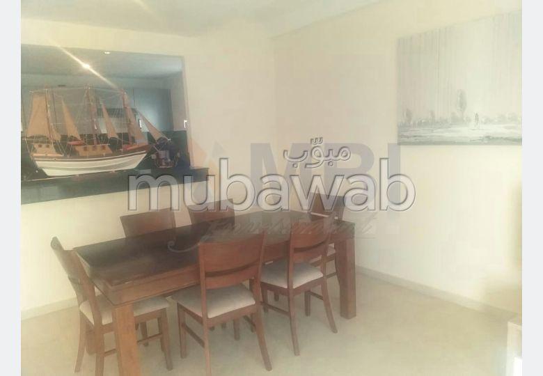 شقة مساحتها 116م²، مفروشة، مطبخ مجهز،  غرفة، الشرف مغوغة