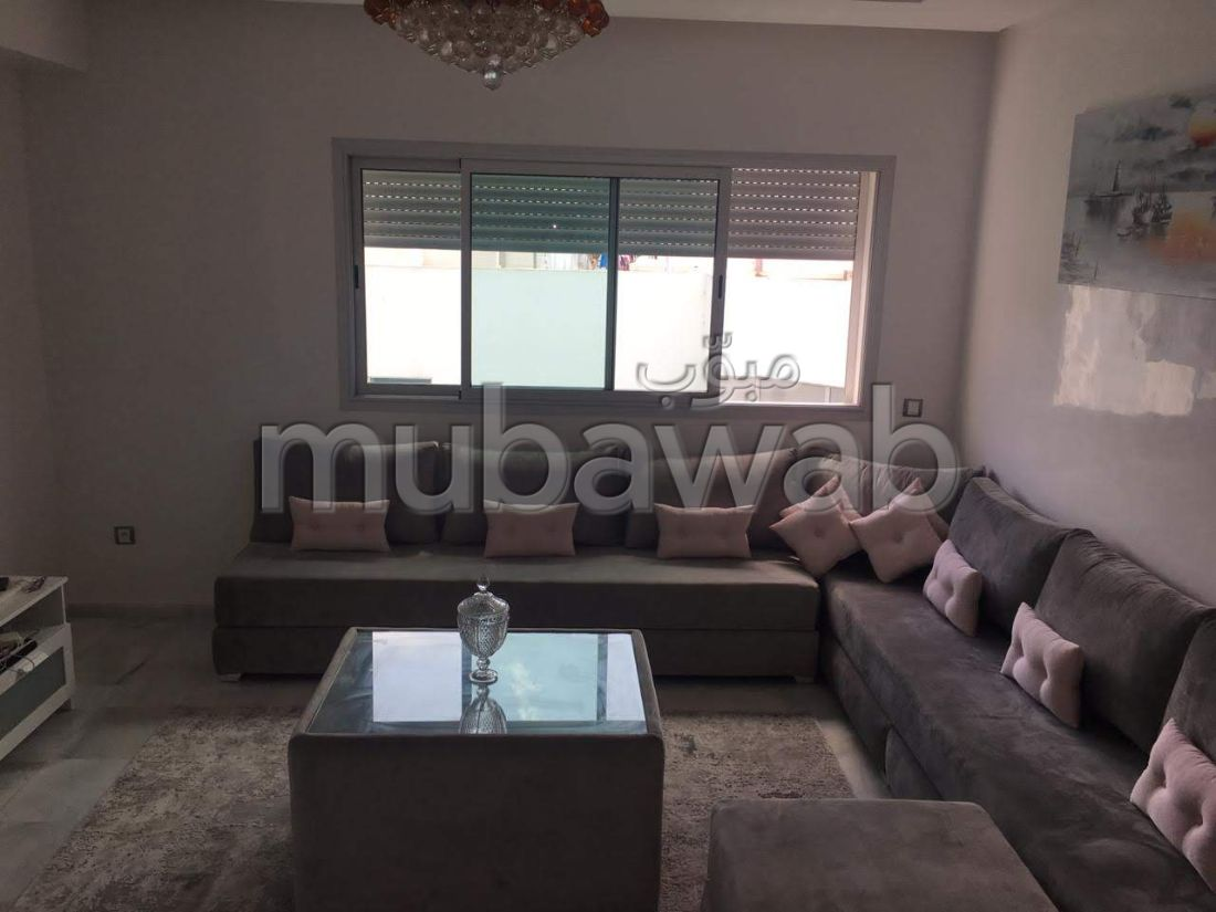 Appartement 100m², Meublé, Cuisine équipée, Mohammedia