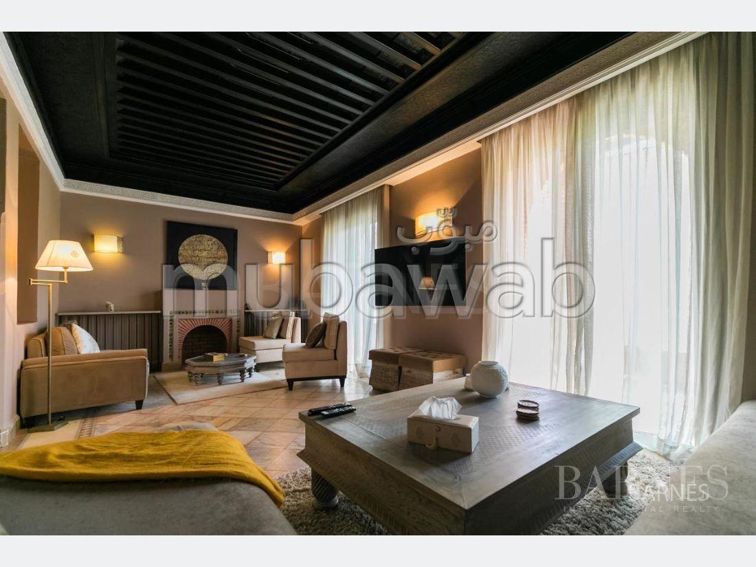 شقة جميلة للبيع بمراكش. 2 غرف رائعة. مفروشة.