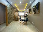 شقة للبيع ببوسكورة. المساحة الكلية 110.0 م². المناطق الخضراء ومصعد.