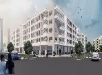 مكاتب ومحلات للبيع ببوسكورة. المساحة الكلية 36.0 م². المناطق الخضراء ومصعد.