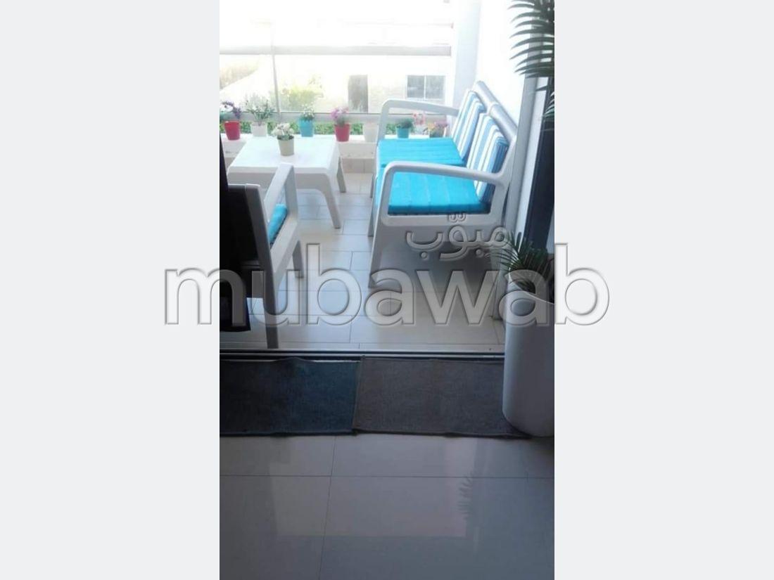 Appartement 75m², Cuisine équipée, Terrasse, Dar Bouazza