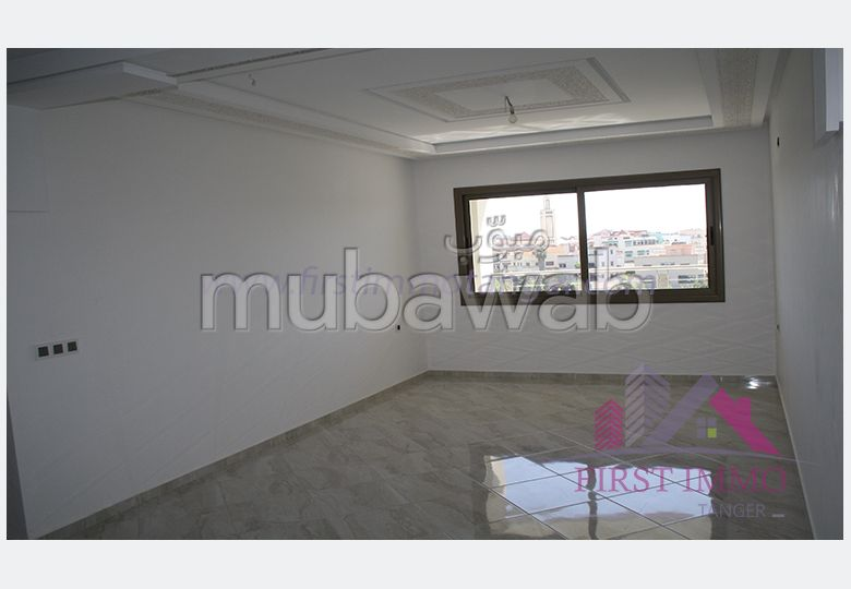 Appartement haut standing a vendre sur route de rabat