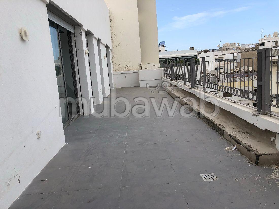 Appartement neuf dernier étage avec terrasse au Gauthier