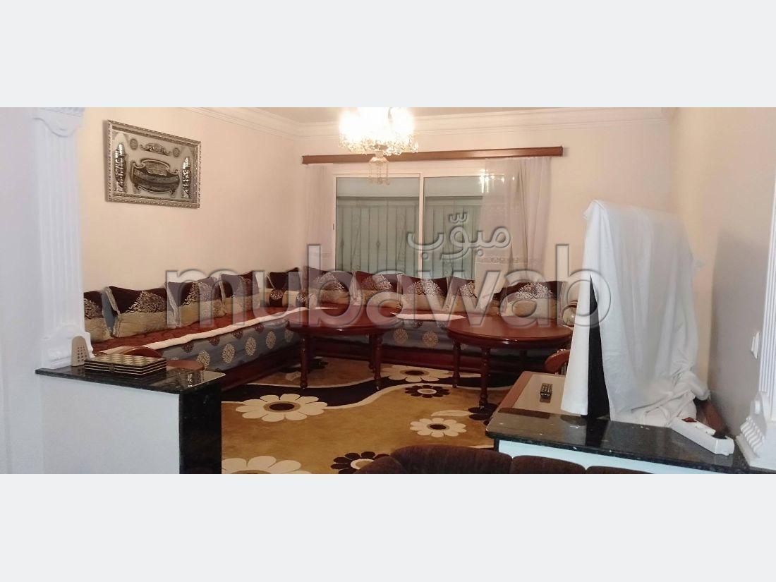 Appartement 131m², Cuisine équipée, Terrasse, Mohammedia