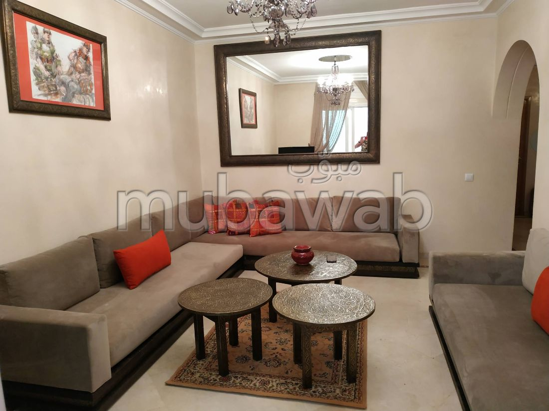 Rent an apartment in Camp Al Ghoul. Dimension 85 m². Well furnished.