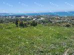 Terrain nu à vendre – vue panoramique – tanger