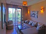 Precioso piso en alquiler en Agdal. Dimensión 75 m². Jardín y garaje.
