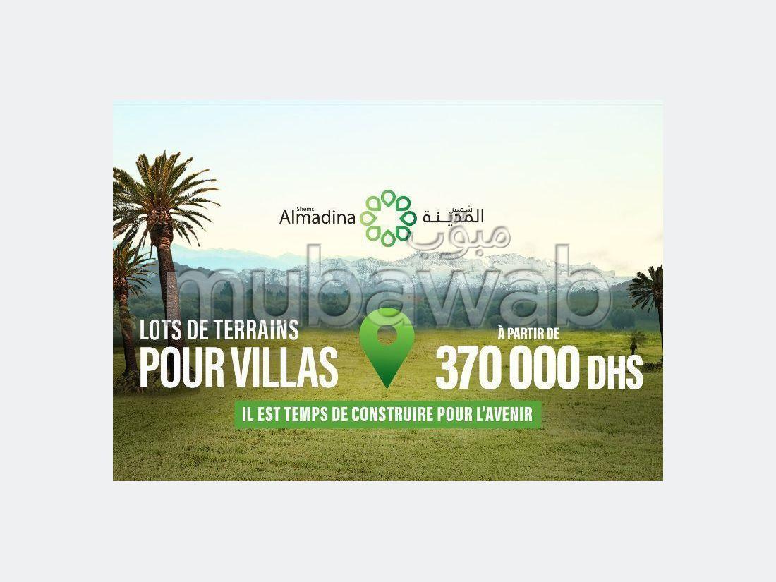 Lot de terrain de 225m² pour villa en vente, Shems El Madina - Lot Villa