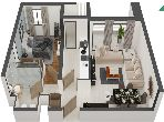 Appartement F2 de 65m² en vente Résidence Occitania, Casablanca