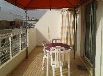 Appartement 95m², Meublé, Cuisine équipée, Agdal Riyad