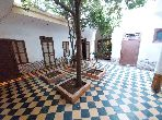 House for sale in Ksibat Nhas. Dimension 402 m². Moroccan Living room.