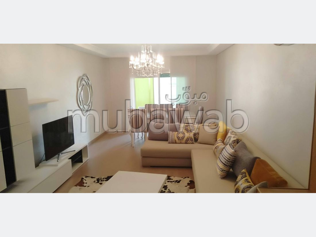 Appartement 117m², Meublé, Cuisine équipée, Mohammedia