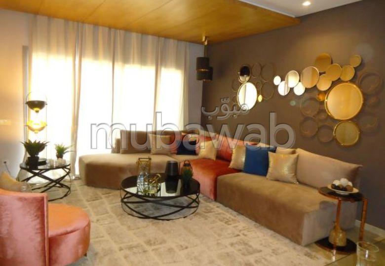 بيع شقة ببوسكورة. المساحة الإجمالية 94.0 م². مع مصعد ومنطقة خضراء.
