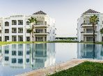 شقة رائعة للبيع ببوسكورة. المساحة الإجمالية 252 م². مساحة خضراء.