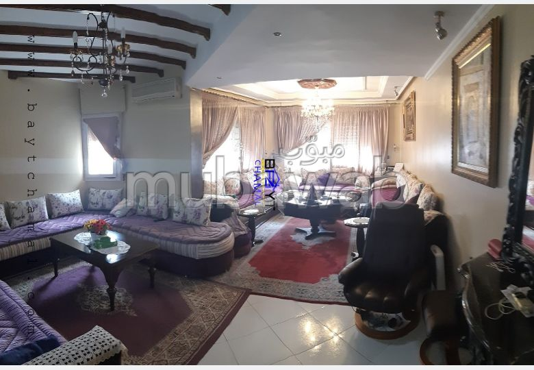Beautiful apartment for sale in Tanger City Center. 2 Hall. With lift and terrace.