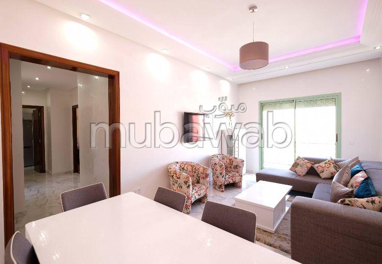 Appartement 85m², Meublé, Cuisine équipée, Guéliz