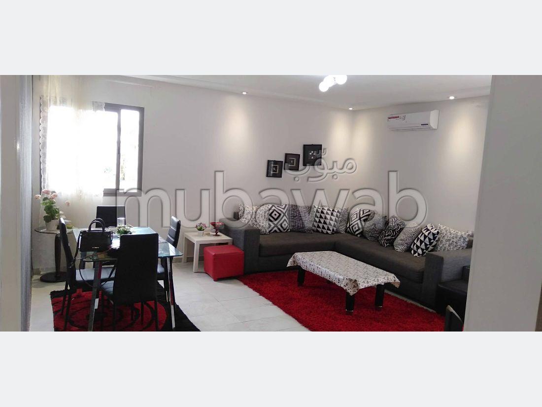 Appartement 97m², Meublé, Cuisine équipée, El Mansouria