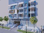 مكاتب ومحلات للبيع بالمهدية. المساحة الإجمالية 205.0 م².
