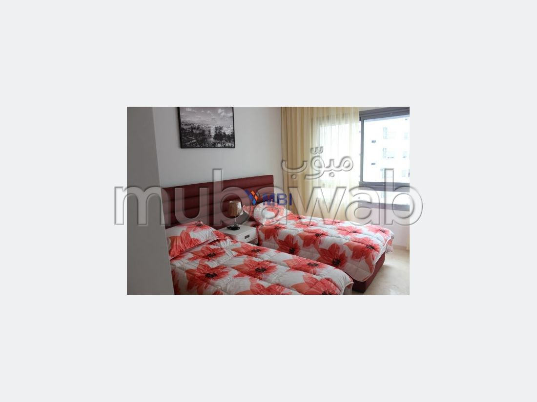 Find an apartment for rent in Malabata. Total area 110 m². Furnished.
